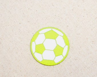 "Mini Soccer Ball Applique Patch Neon Pink 7//8/"" Clearance, 3-Pack, Iron on"