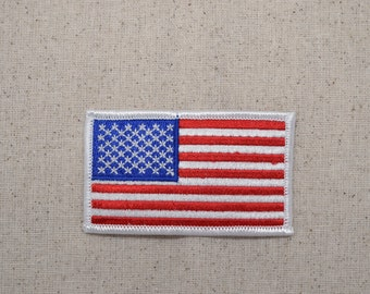 us seller small  Tuvalu national country FLAG sew or Iron On Patch 1677
