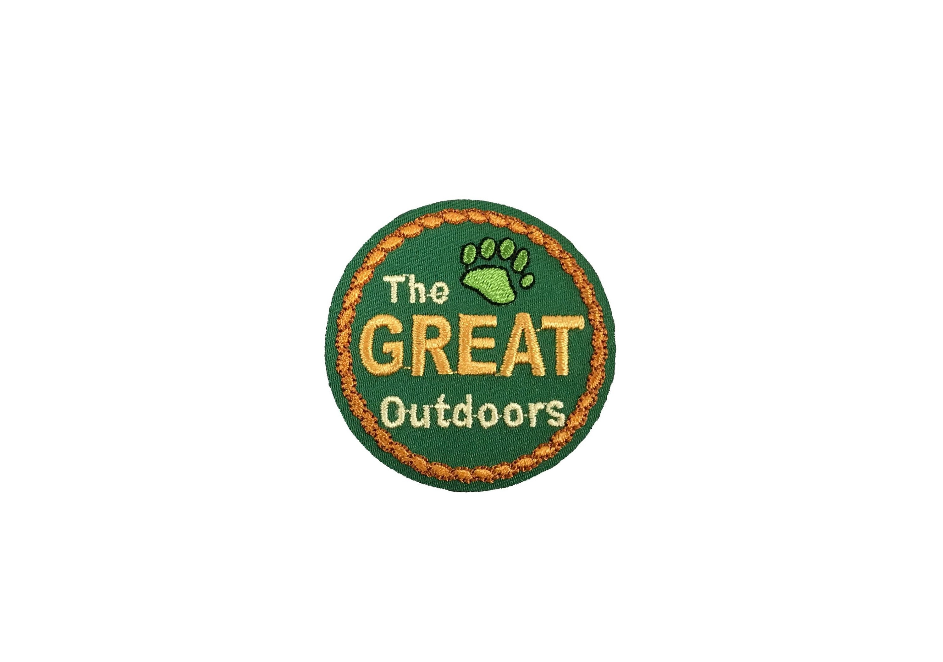Camping//Camp Fire//Outdoors//Nature Iron on Applique//Embroidered Patch