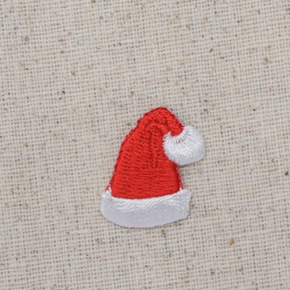 Klein Weihnachten Sankt-Hut Eisen auf Applikationen   Etsy