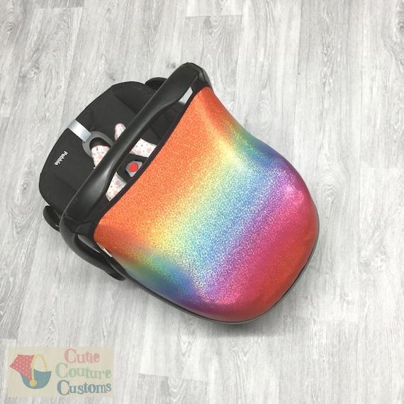 car seat hood//sun canopy turquoise maxi cost pebble//cabriofix //universal