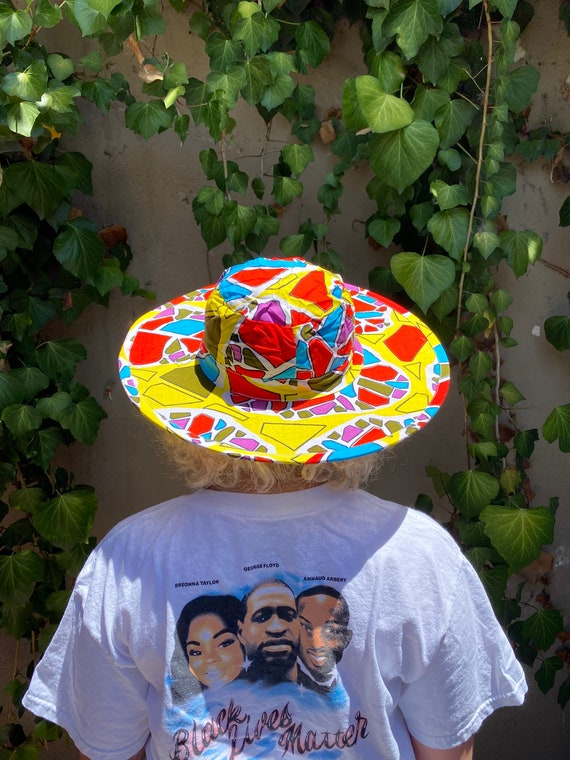 Psychedelic sunhat