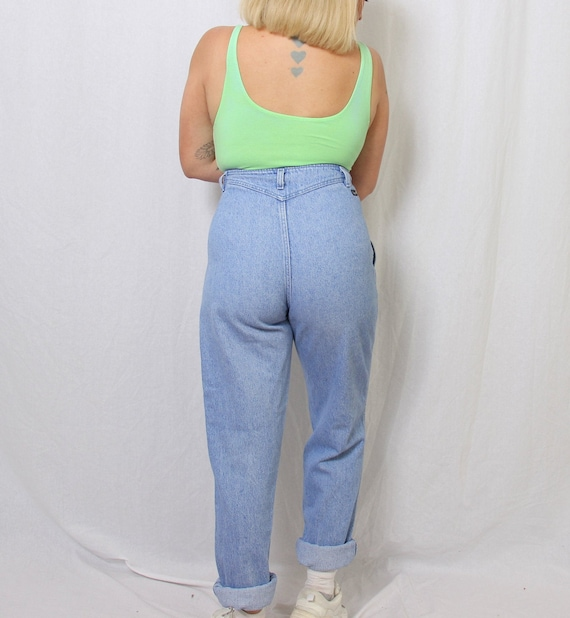 pleated wrangler jeans - image 4