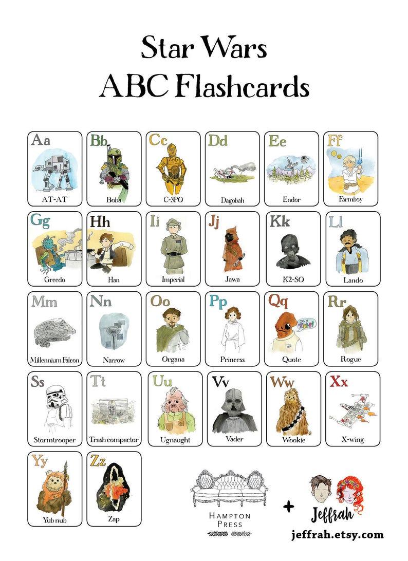 Nerdy Alphabet Flash Cards Physical Set