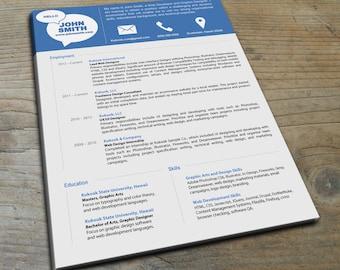 Simple and Modern Resume Template - Kukook Resume Templates