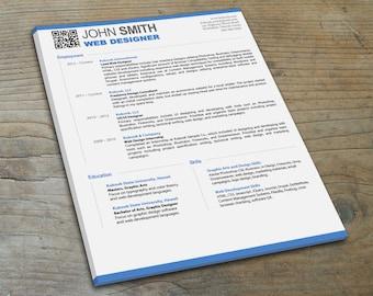 Graphic Design - Modern Resume Template