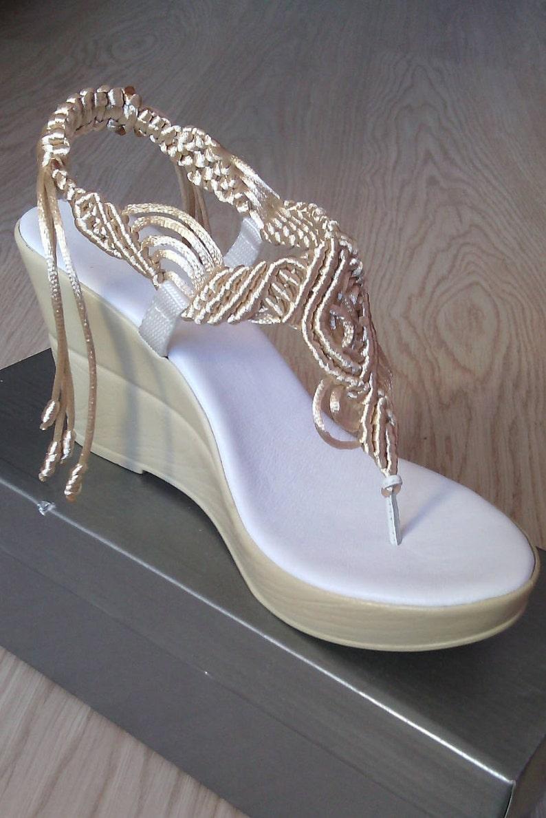 492ae1f1d Zapatos de mujer Sandalias Sandalias de boda bohemio