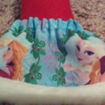Christmas Shelf Clothes Frozen Elsa Anna Blue Cotton Skirt With Fur Trim For 12 Inch Girl Elf Or Pixie