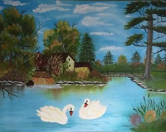 Swan's lake