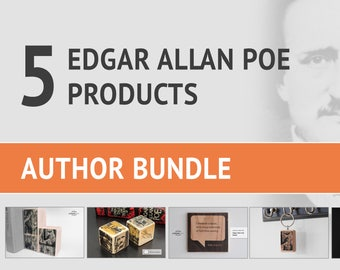 Edgar Allan Poe Bundle – 5 Poe Products from Literature Lodge