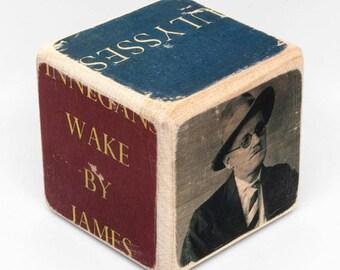 Writer's Block: James Joyce