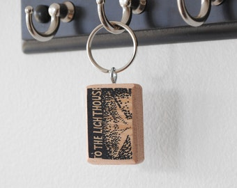Literary Keychain: To the Lighthouse by Virginia Woolf