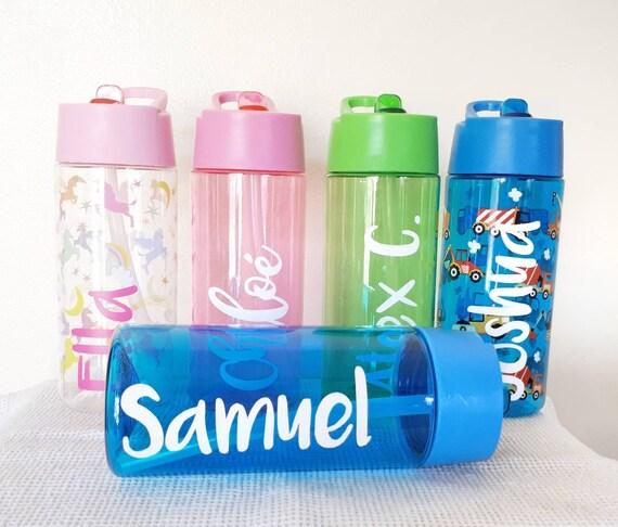 eb856821e8 Personalised Kids Water Bottle Back to School Water Bottle   Etsy