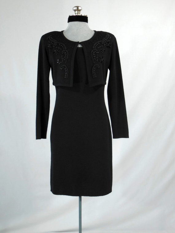 Carole Little black dress vintage Carole Little pe