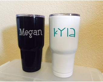 240c24e1061b 30 oz double wall insulated Tumbler with custom name