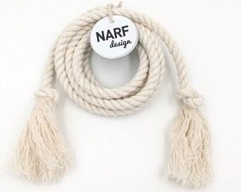Nautical Rope Belt