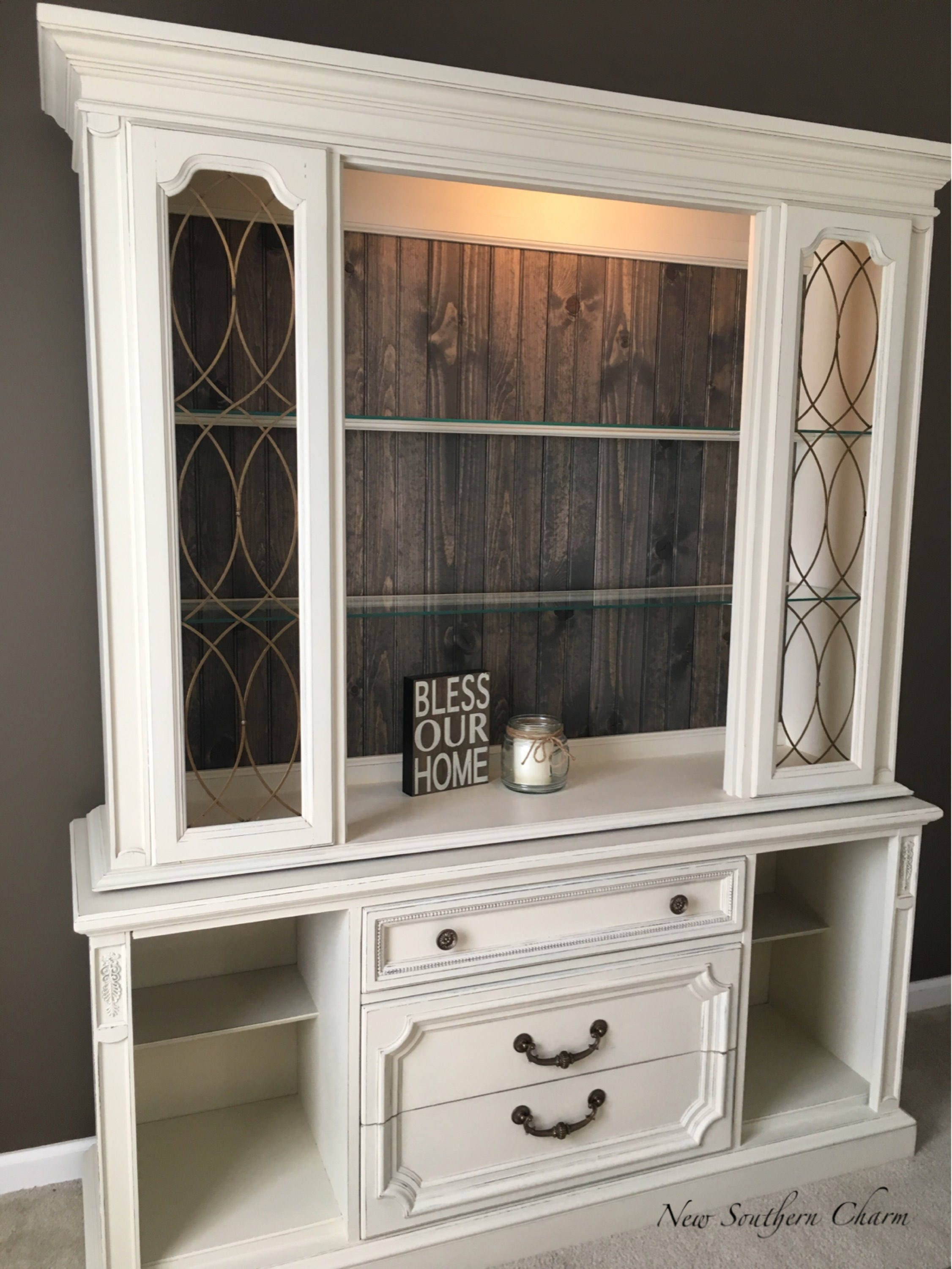 custom china cabinet buffet farmhouse hutch buffet rustic. Black Bedroom Furniture Sets. Home Design Ideas