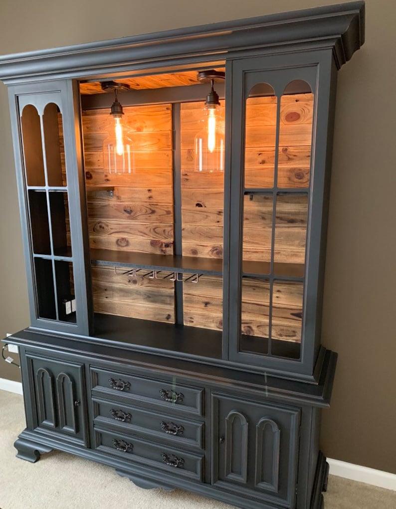 Superbe Custom Cabinets Available, Rustic Bar Cabinet, Buffet Hutch, Wine Hutch  Liquor China Cabinet, Buffet, China Cabinet, Custom