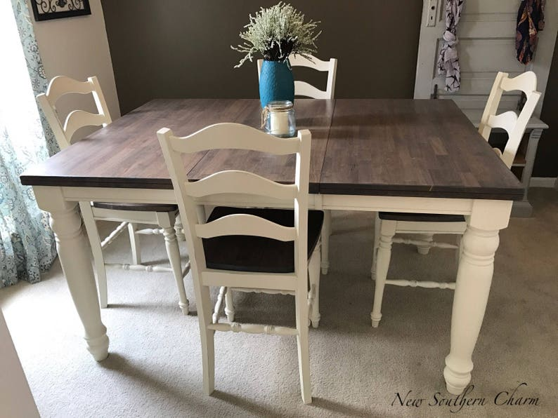Counter Height Kitchen Table Sets Impressive Adjustable Counter Height Farmhouse Kitchen Dining Table Set 3814 11