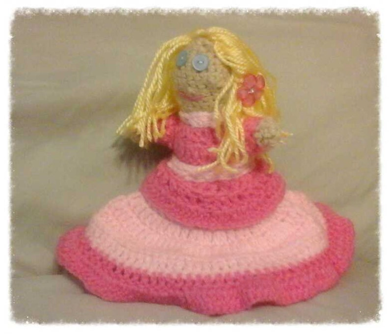 Goldilocks and Three Bears Custom Made Gift,Crocheted Doll Christmas Ideas for Kids Treasured Childhood Story Unique Baby Shower Gift