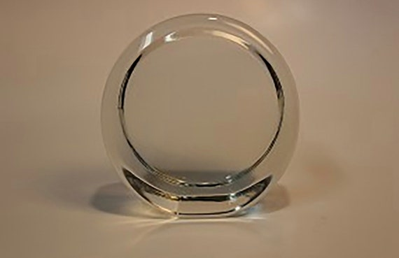 Dome Glass Supplies 3 Inch Round Deep Recess Dome Crystal Paperweight for Decoupage Decorate Dome Paperweights