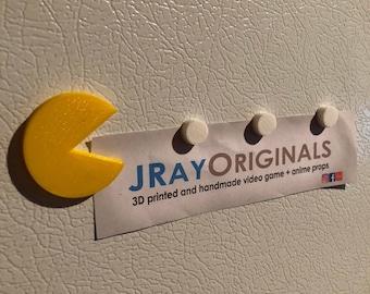 Pacman Refrigerator 4 Magnet Set