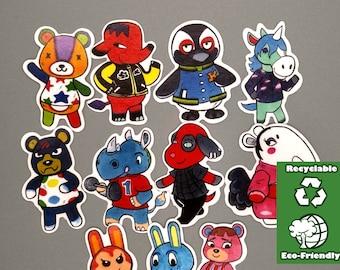 ANIMAL CROSSING STICKERS/Eco-friendly/ Matte Sticker