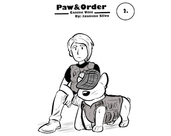 PAW and ORDER ZINE issue 2/Comic/Original Comedic Story