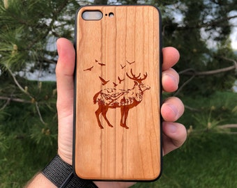 Pine Wooden Iphone Case Tree Iphone Xs Max Case X 8 6 6s