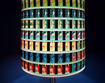 Recycled lighting etsy studio ghibli ponyo lampshade 35mm recycled film strip aloadofball Images