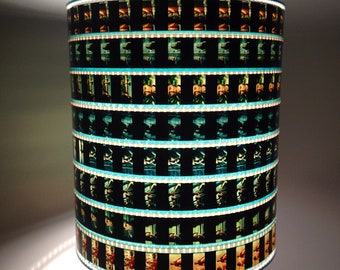 Hunger Games Lamp Shade 35mm Recylced Film Strip