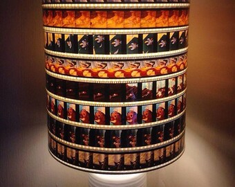 Disney's The Lion King 35mm film strip lampshade