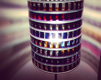 Miami Vice 35mm Recycled Film Strip Lamp Shade