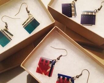 Film Reel Frame Earrings