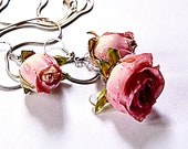 Real rose pink jewelry, d...