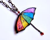 Umbrella necklace,  gay p...