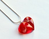 Valentine Red Heart neckl...