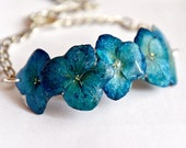 Real flowers turquoise br...