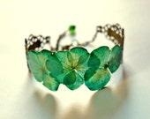 Real plant bracelet Green...