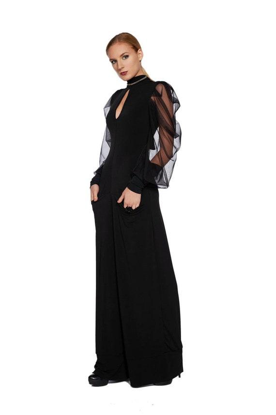 Women Jumpsuit Black Jumpsuit Plus Size Jumpsuit Harem Etsy
