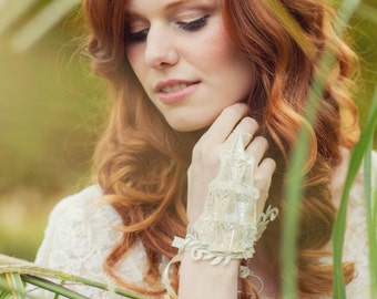 The Farrow Fingerless Bridal Glove