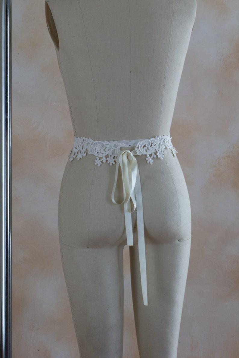 Danner lace bridal sash