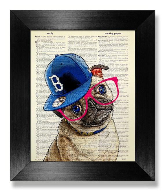 Pug Wall Art