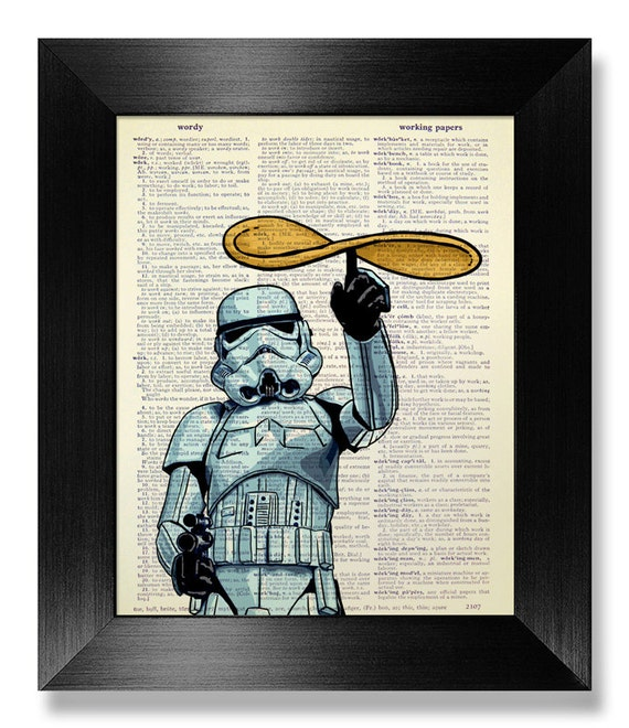Star Wars-Küche-Wand-Kunst STAR WARS-Wand-Kunst lustige | Etsy