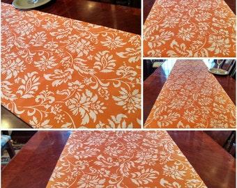 Fall Table Runner, Autumn Harvest TableLinen Bed Runner, Buffet/DresserScarf, Thanksgiving Tablecloth/Dining/Reception/Banquet 16x102