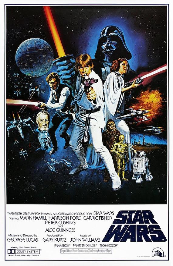 Star Wars Darth Vader Poster Art Print A0 A3 A1 A2 A4