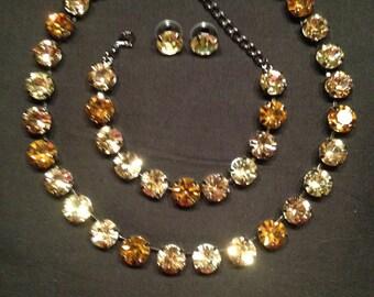 Swarovski 11mm jewelery set