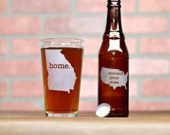Pint Glass. Custom Beer Glass - Custom Pint Glass - Beer Glass - Pint Glass - Groomsmen Gift