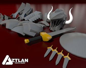 AZTLAN Props 3D
