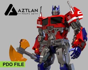 Optimus Prime Figure - Papercraft (70cm)